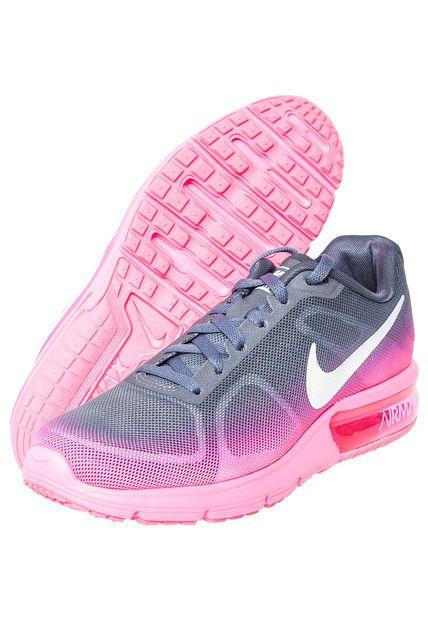 Me encanta Miralo Zapatilla WMNS Air Max Sequent Rosada/Gris Nike