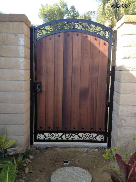 Puertas de madera para jardin fabulous quedar inutilizada for Puertas de madera para jardin