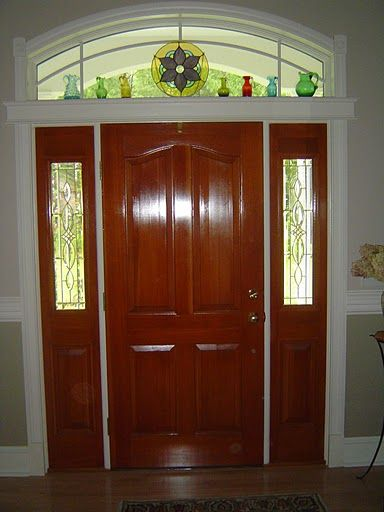 Transom Windows Provide Natural Lighting Privacy And