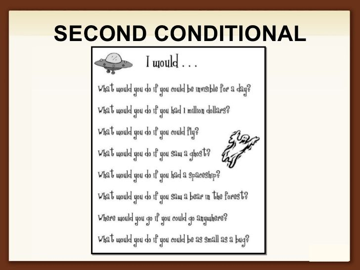second conditional