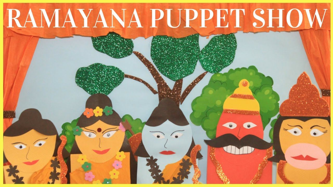 The Story Of Ramayana Puppet Show For Kids Puppet Show For Kids Puppets For Kids Arts And Crafts For Kids Toddlers [ 720 x 1280 Pixel ]