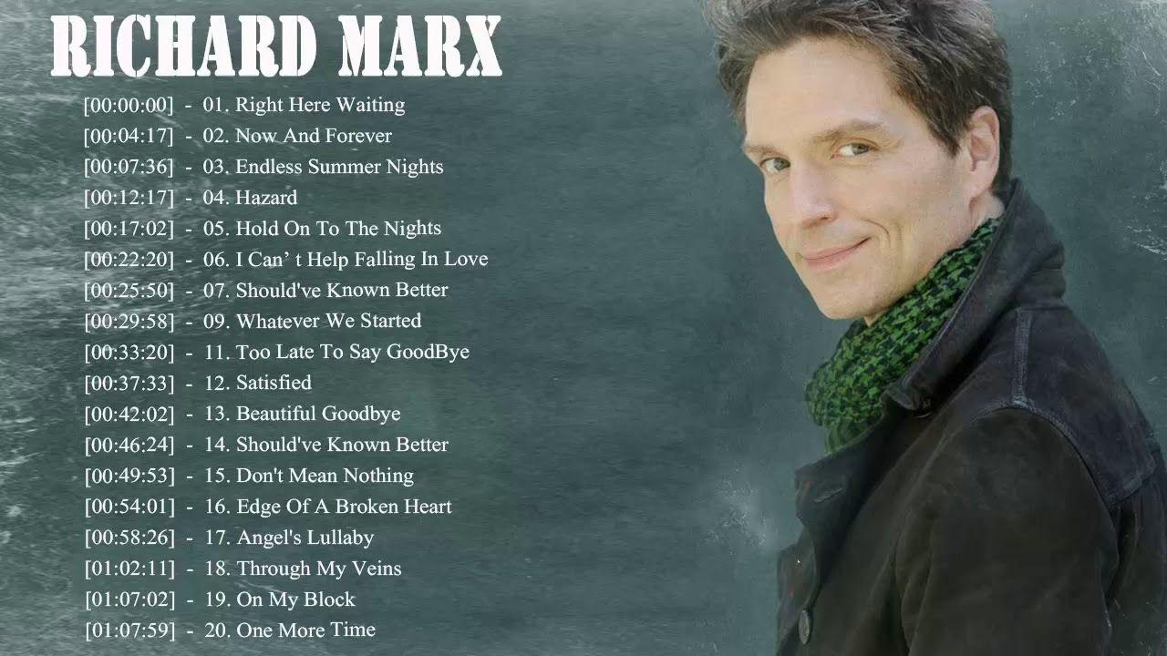 Richard Marx Greatest Hits Collection The Best Of Richard Marx Album Muziek