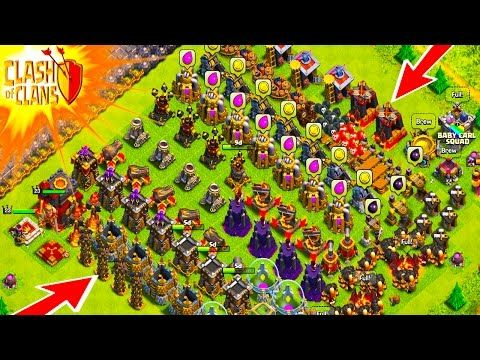 """Clash of Clans - BLUE INFERNO TOWER??? 250 DESTROYED! """"Funny Moments+ FIRE FIGHTER UNLOCK!"""" - YouTube"""