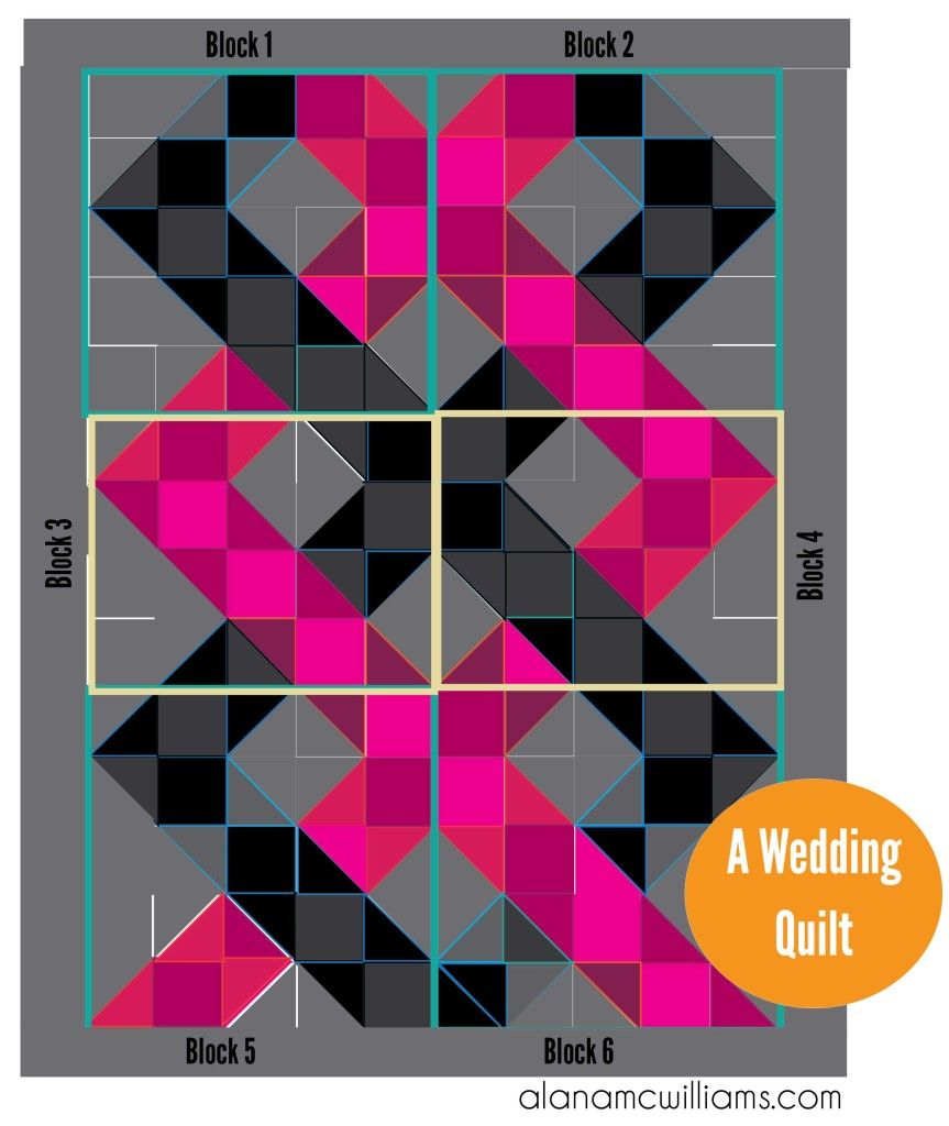 Wedding Quilt Pattern by Alana McWilliams | Beautiful Quilts and ...