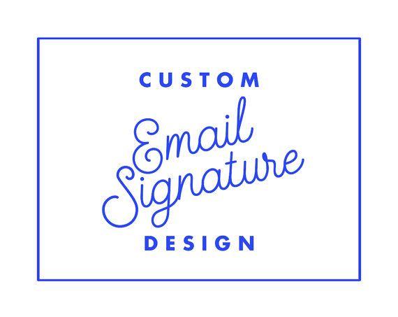 Custom email signature email template custom gmail signature e custom email signature email template custom gmail signature e mail signature design flashek Gallery