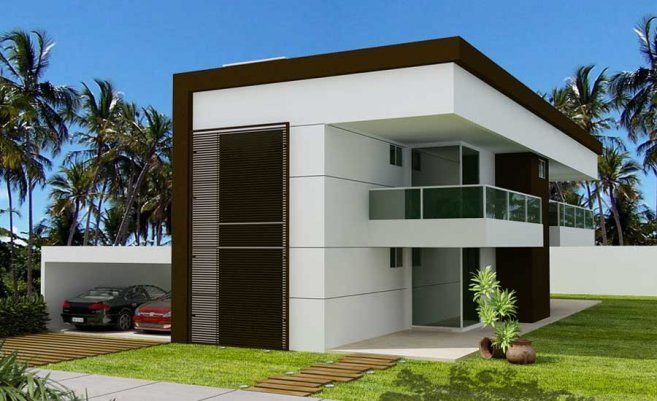 ultra modern villas design concept ideas new and modern villa designs in rio das palmeiras at. Black Bedroom Furniture Sets. Home Design Ideas