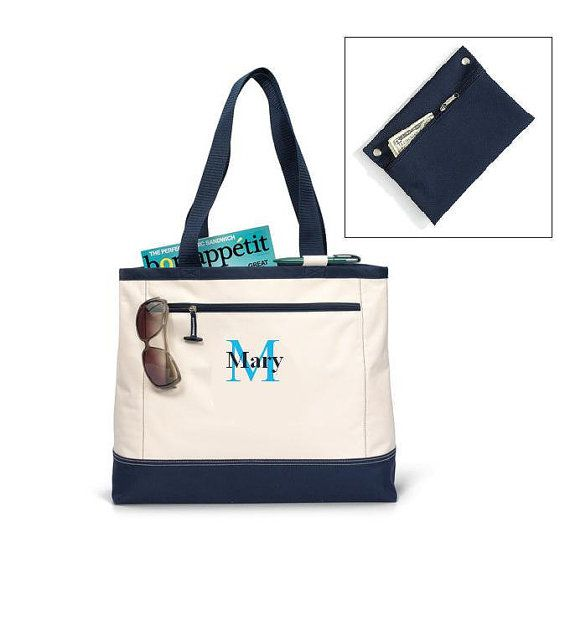 **completion timeframe is 14-18 days and shipped priority mail.    BAG EMBROIDERED with name or intials FREE!!!!    Nantucket Tote    -Perfect for