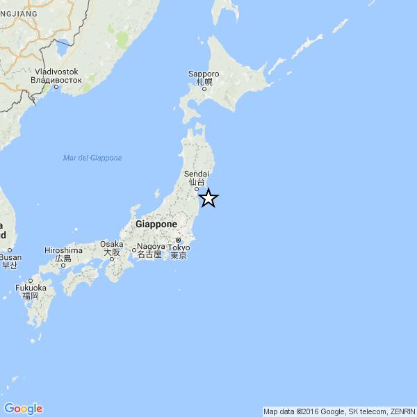 #terremoto #giappone 6,9 – Near east coast of eastern Honshu, Japan [Sea: Japan], Magnitudo 6.9, 21 novembre 2016 ore 20:59:47 UTC » INGV Centro Nazionale Terremoti | __kenzokymura__ 