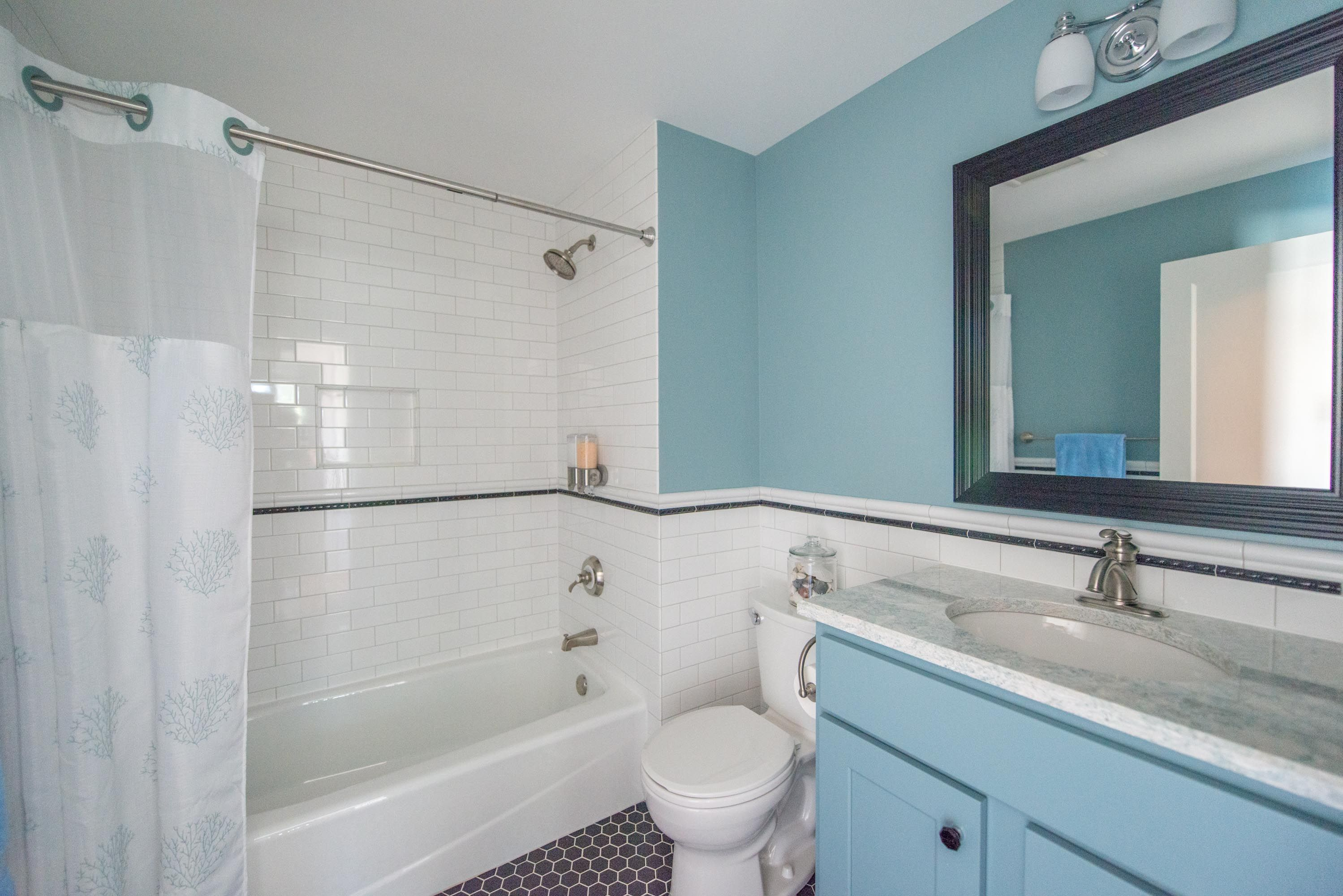 Upper Arlington bathroom remodel designed by Monica Lewis Miller ...