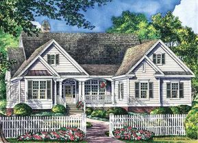 #Bedroomss #Cottage #Dream #Feet #Home #House #Plan