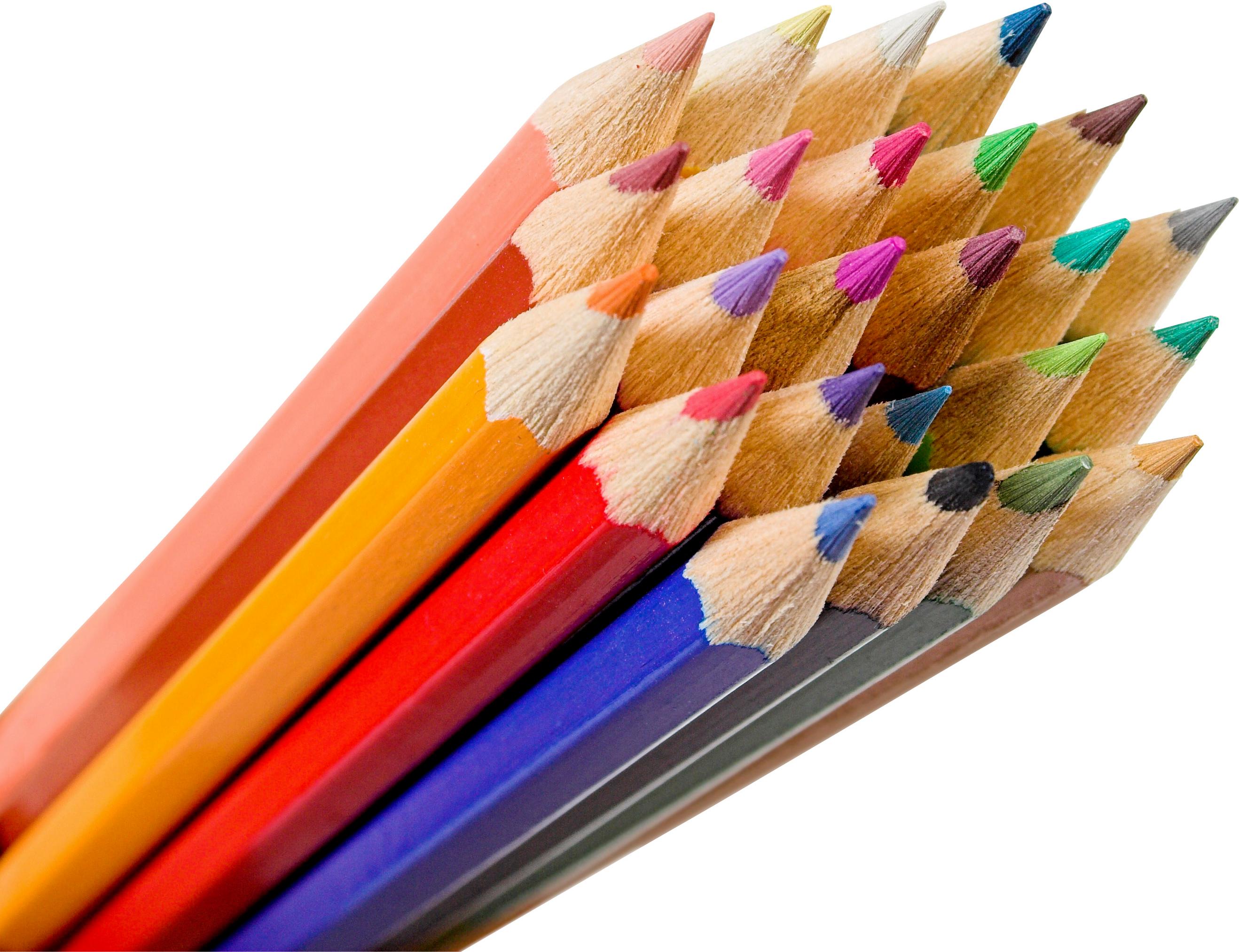 Pencil Png Images Free Download Colored Pencils Pencil Coloured Pencils