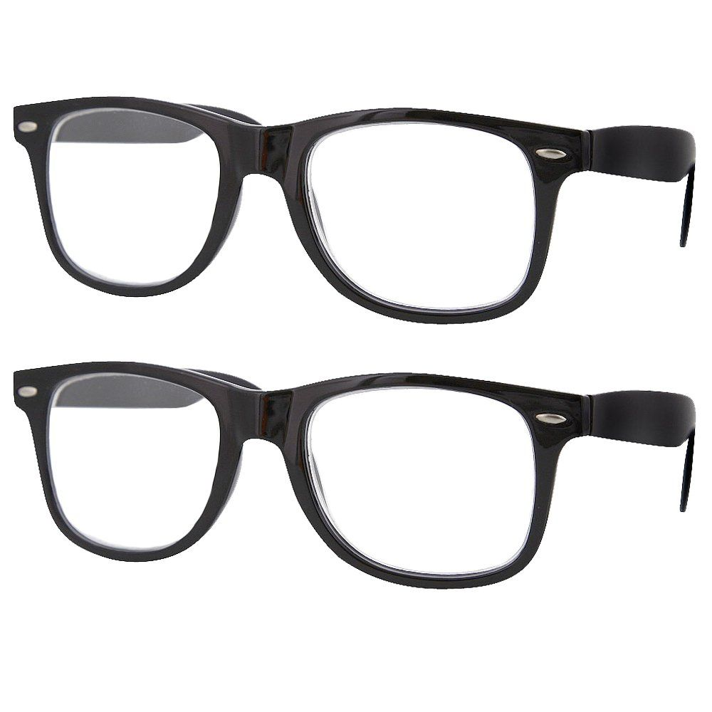 7461a1c408a 2 Pack High Magnification Reading Glasses Strong Power Readers 4.006.00  Black  5.00    You can get more details by clicking on the image.