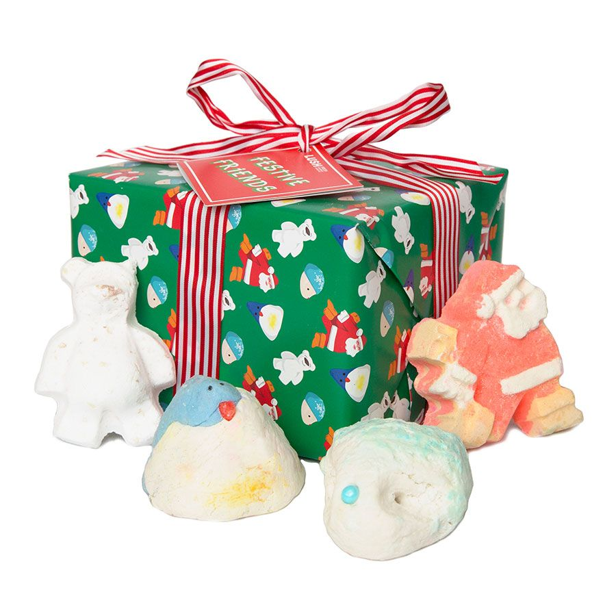 Love the decorative gift sets from Lush this year, in the store the ...