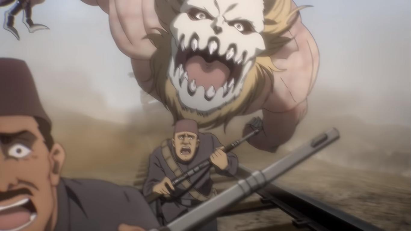 Porco Galliard Jaw Titan In 2020 Attack On Titan Anime Titans Titans Anime