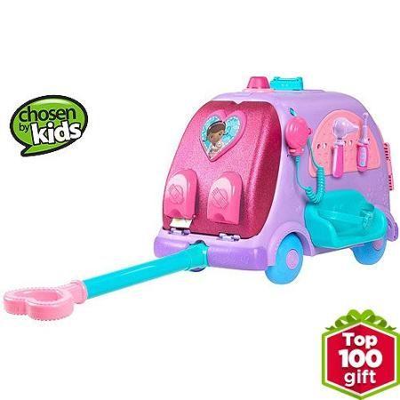 Disney Doc Mcstuffins Toy Hospital Doctor's Bag Set - Walmart.com ...
