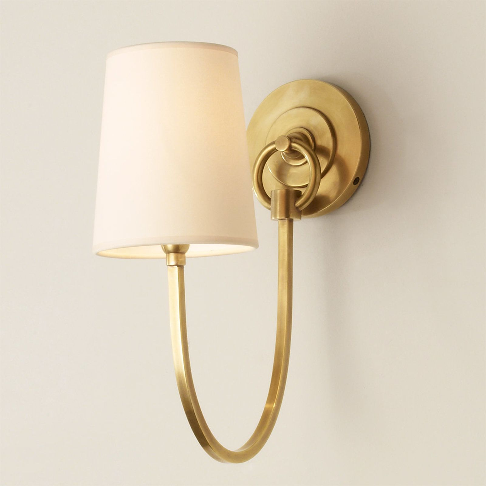 Swag Sconce 1 Light Contemporary Wall Sconces Wall Sconces Wall Sconce Shade