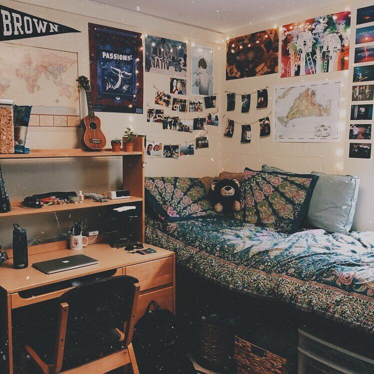 Pin By Yael Jimenez On Rooms Spaces Dorm Room Inspiration Cool Dorm Rooms Dorm Room Diy