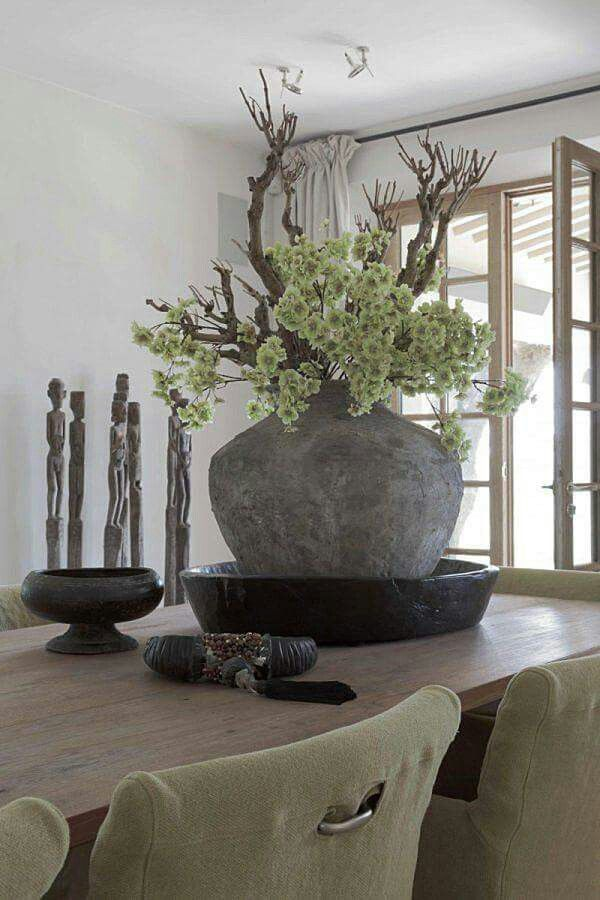 Bloempot Opgemaakt Vazen Decoreren Huis Ideeen Decoratie Woonkamer Decoratie