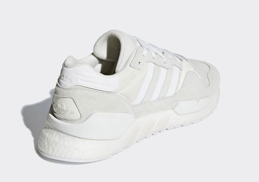 be0e6a671 adidas ZX 930 x EQT White Grey G27831 Release Date