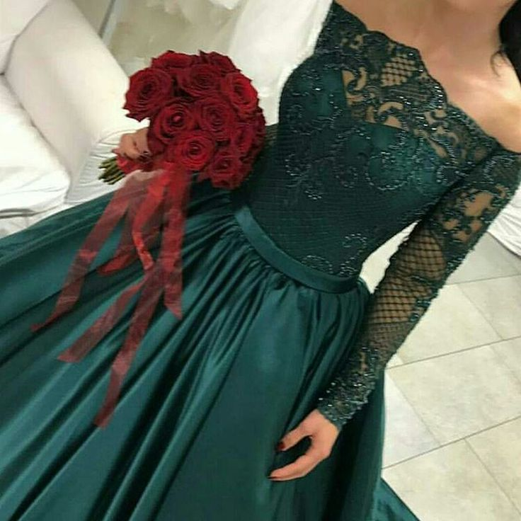 Long Sleeve Evening Wear Dresses and Formal Ball Gowns by ...