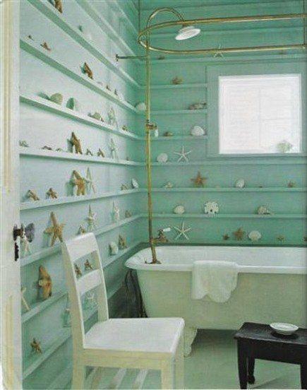 nice shelving idea. Any room, any collection