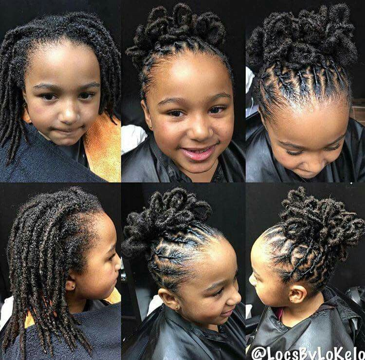 Love Style For Kids Locs Hairstyles Hair Styles Dreadlock Styles