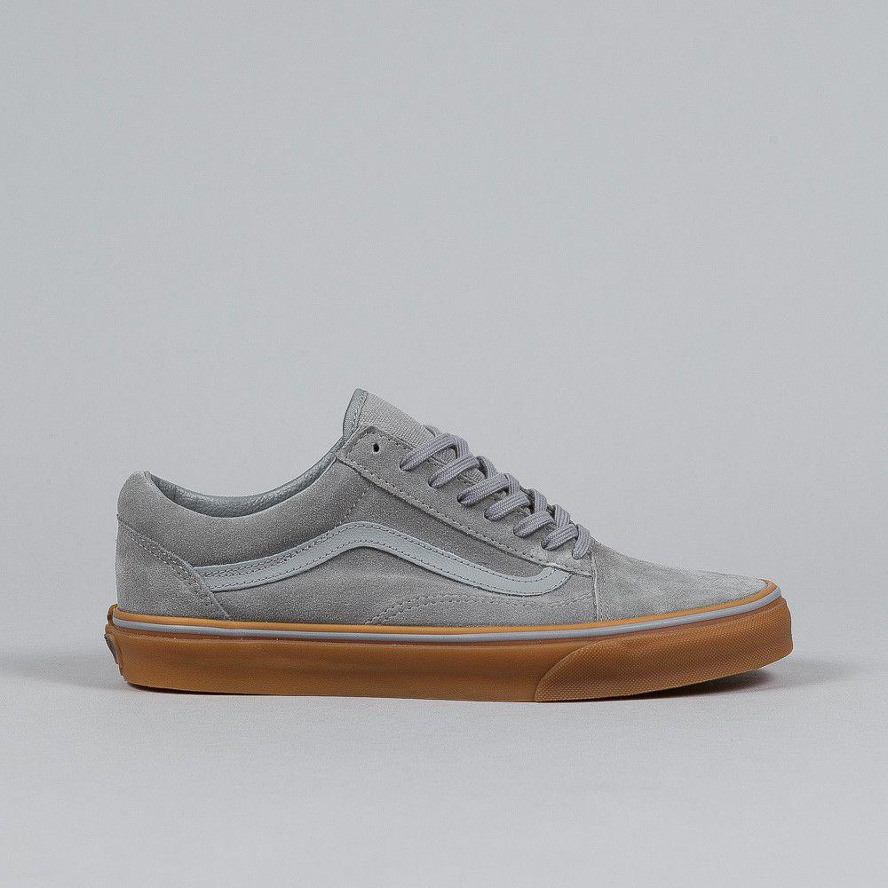 vans unisex old skool frost gray