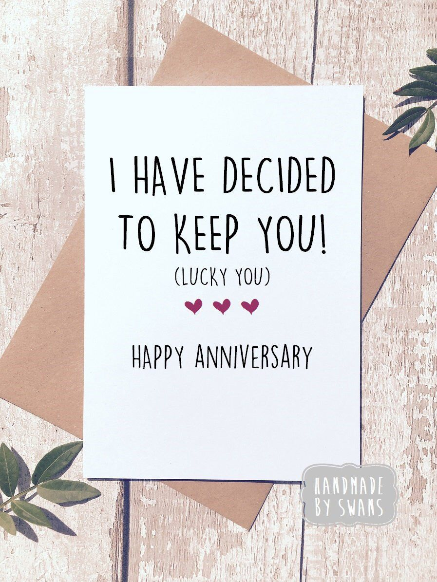 Excited To Share This Item From My Etsy Shop Happy Anniversary Card Card Happy Anniversary To My Husband Anniversary Funny Anniversary Quotes For Boyfriend