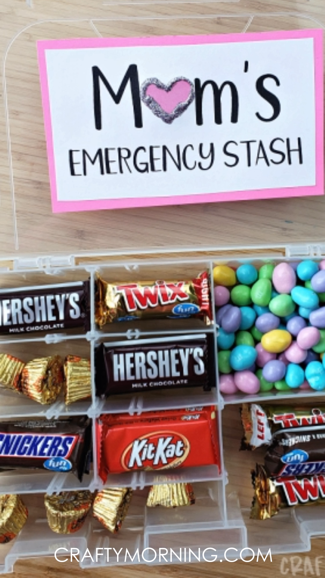 Tackle Box Mom's Emergency Candy Stash