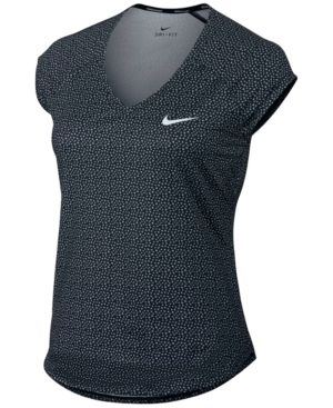 Nike Court Dri-fit Tennis Top - Black XL