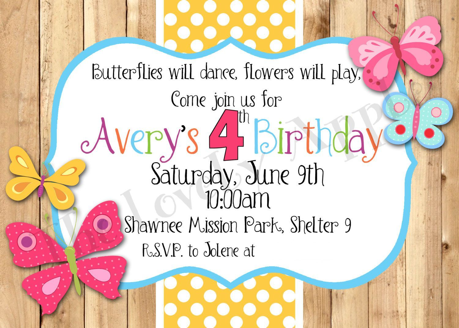 birthday invitations template free printable kids birthday in 2018