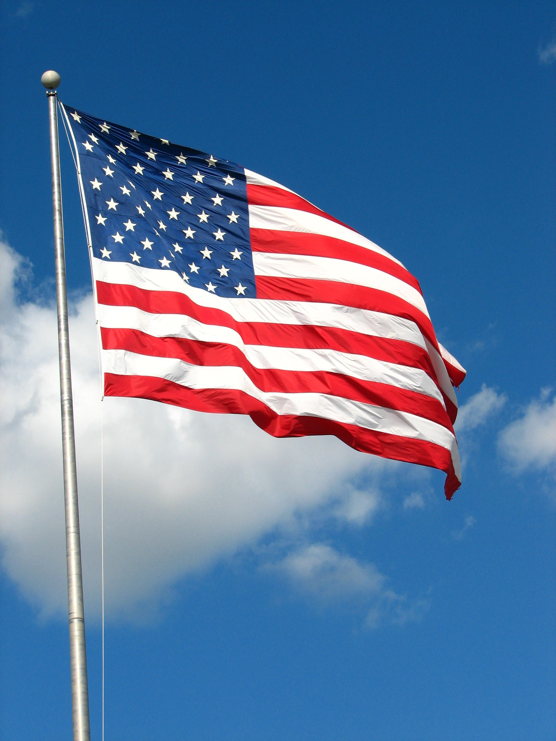 Over The Course Of Many Years The American Flag Has
