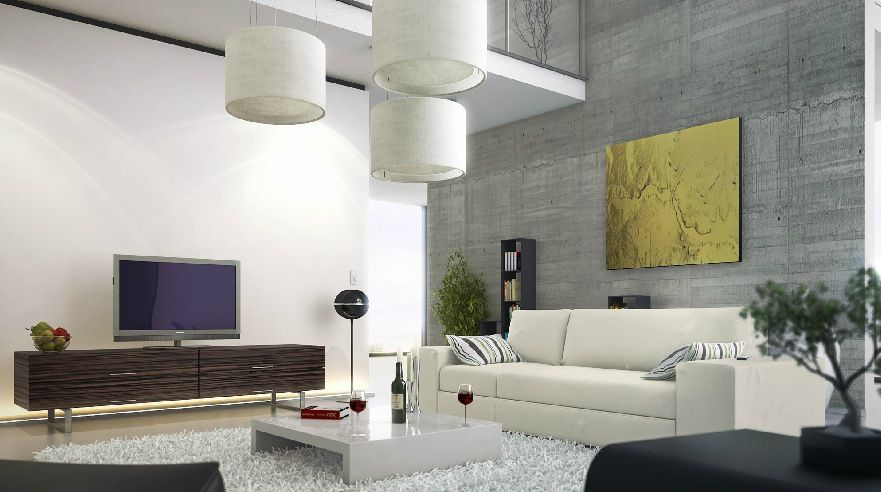 23 Glamorous Interior Designs With Concrete Walls | Concrete Walls