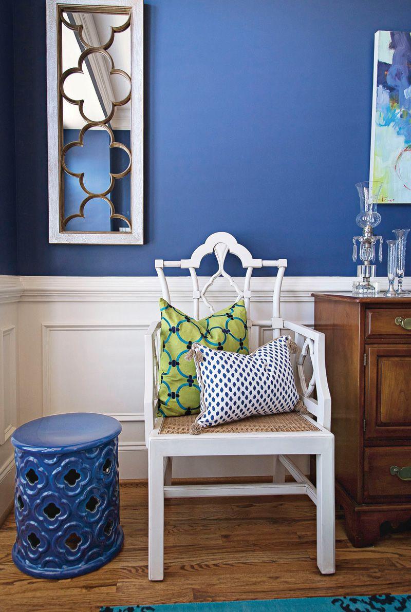 Dale Color A Tu Casa Una Vez Que Lo Pintes De Un Tono Dramático Como Azul Rey Por Ejemplo La Habitación Cobrará Vida
