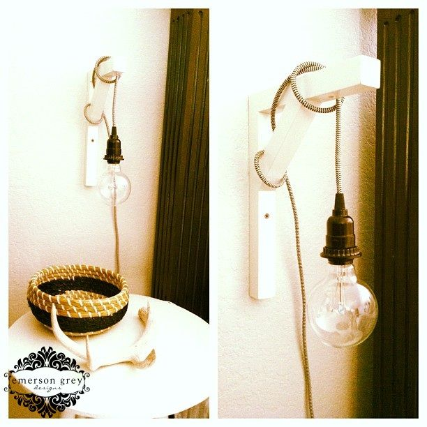 Emerson Grey Designs : Nursery Interior Designer: Our new home {part 5}, new bedside lights, cord kit