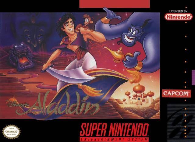 Aladdin Super Nintendo Jogos Super Nintendo Aladdin