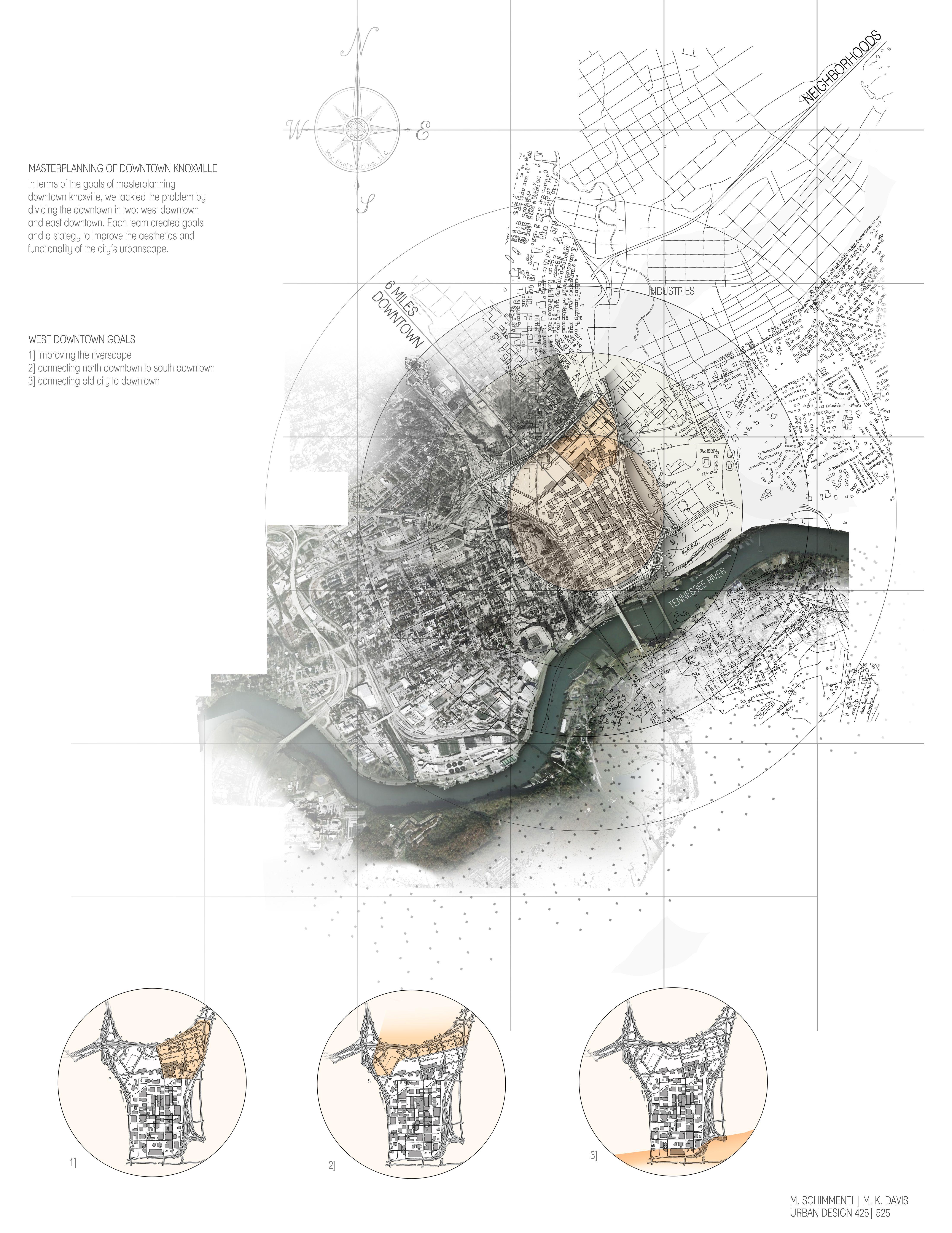 Knoxville Urban Design Map For Urban Design Class