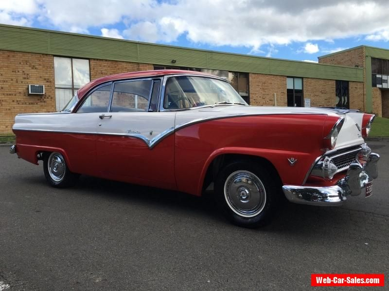 1955 Ford Fairlane Victoria Coupe V8 (Right hand Drive) #ford ...