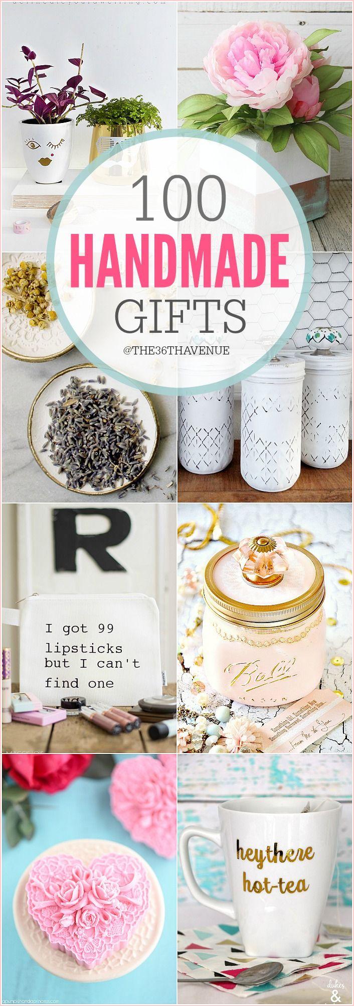 100 Handmade Gifts Diy Women Gifts Handmade Gifts Diy Diy Christmas Gifts Creative Diy Gifts