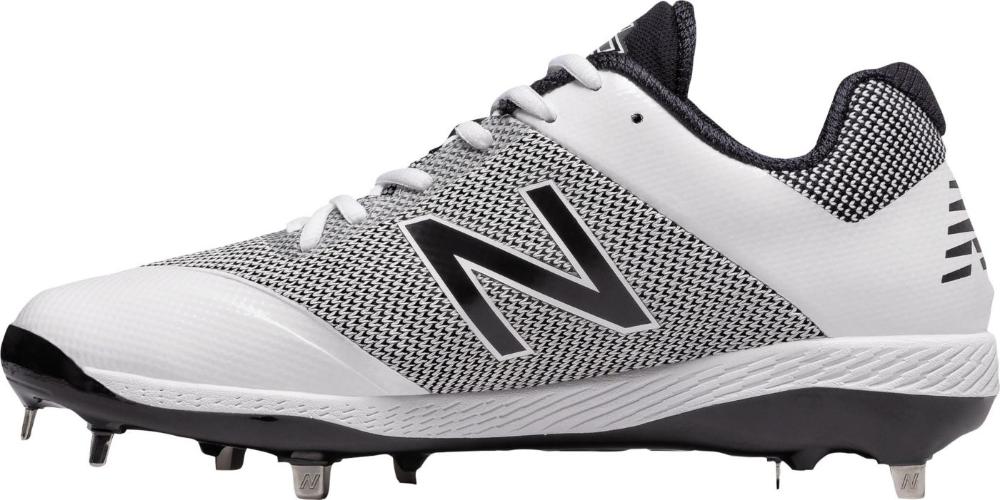 New Balance Men S 4040 V4 Pedroia Metal Baseball Cleats In 2020 Metal Baseball Cleats Baseball Cleats New Balance