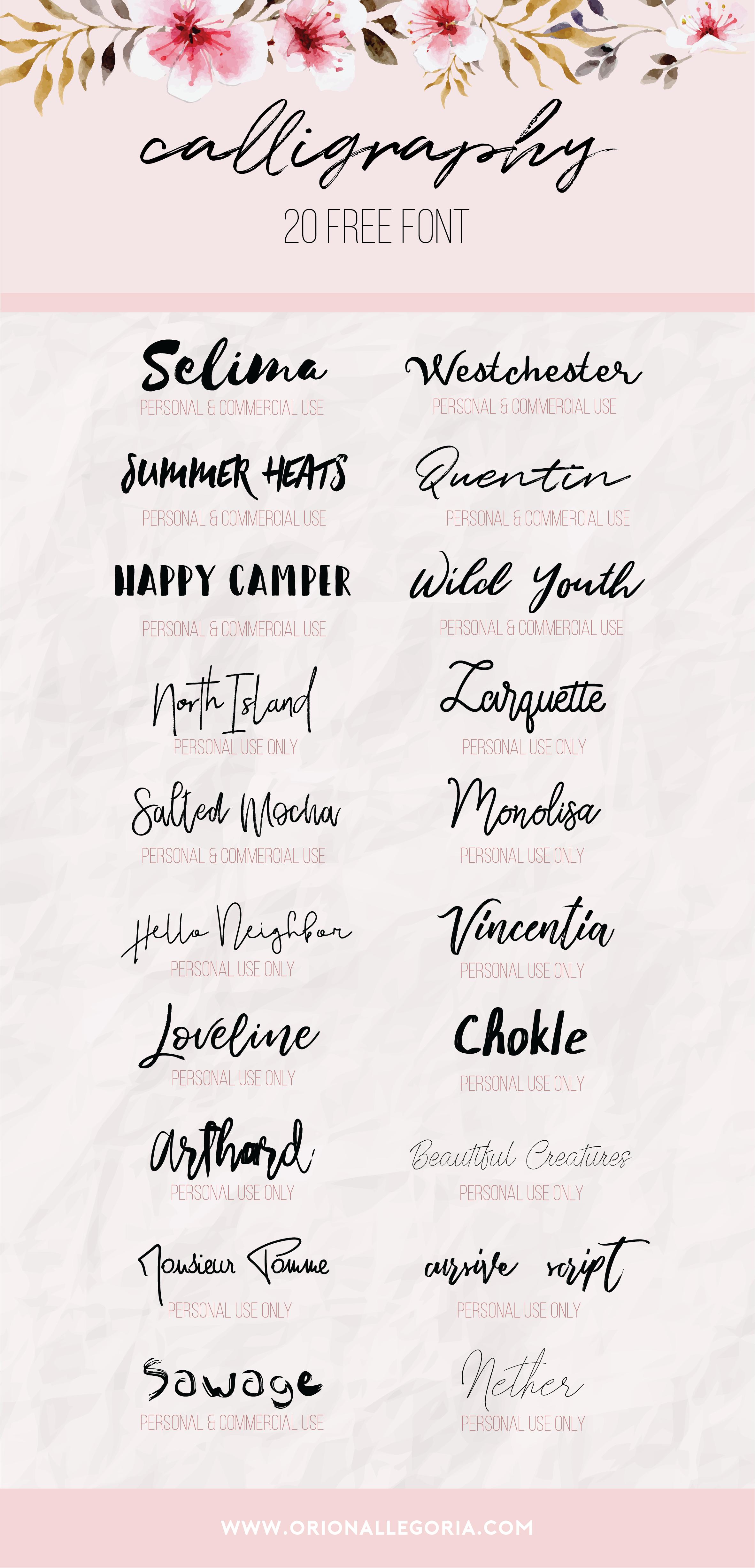 48+ Type d ecriture tatouage trends