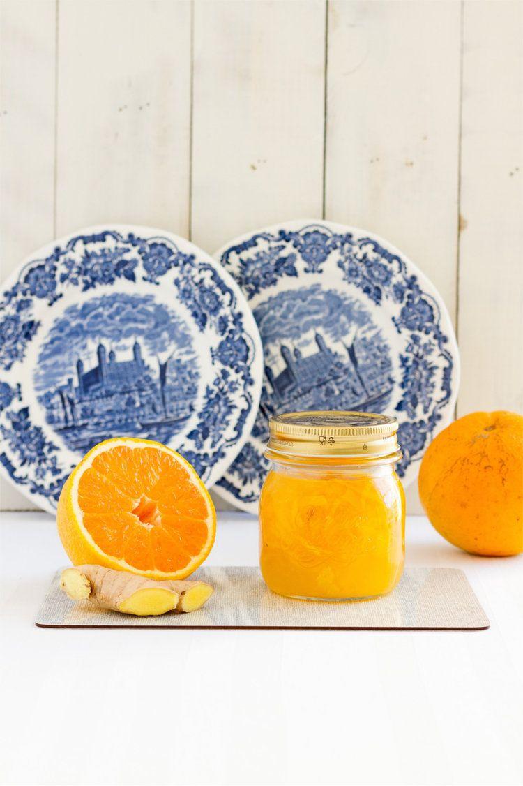 Orangenmarmelade mit Ingwer © Hase im Glück