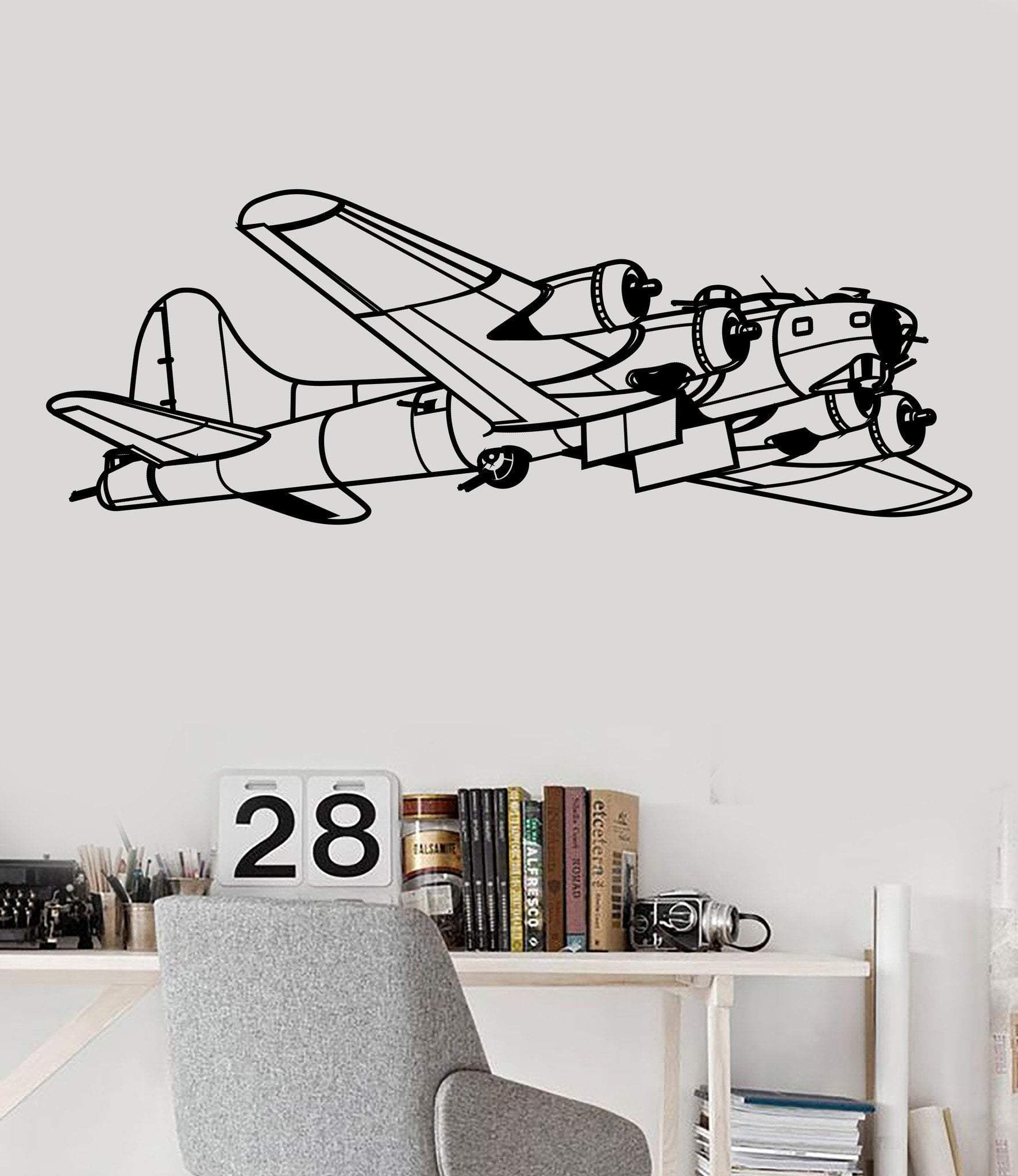 Vinyl Wall Stickers Aircraft Aviation Military Air Force