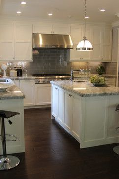 Fantasy Brown Granite Looks Good With Walnut Floors And