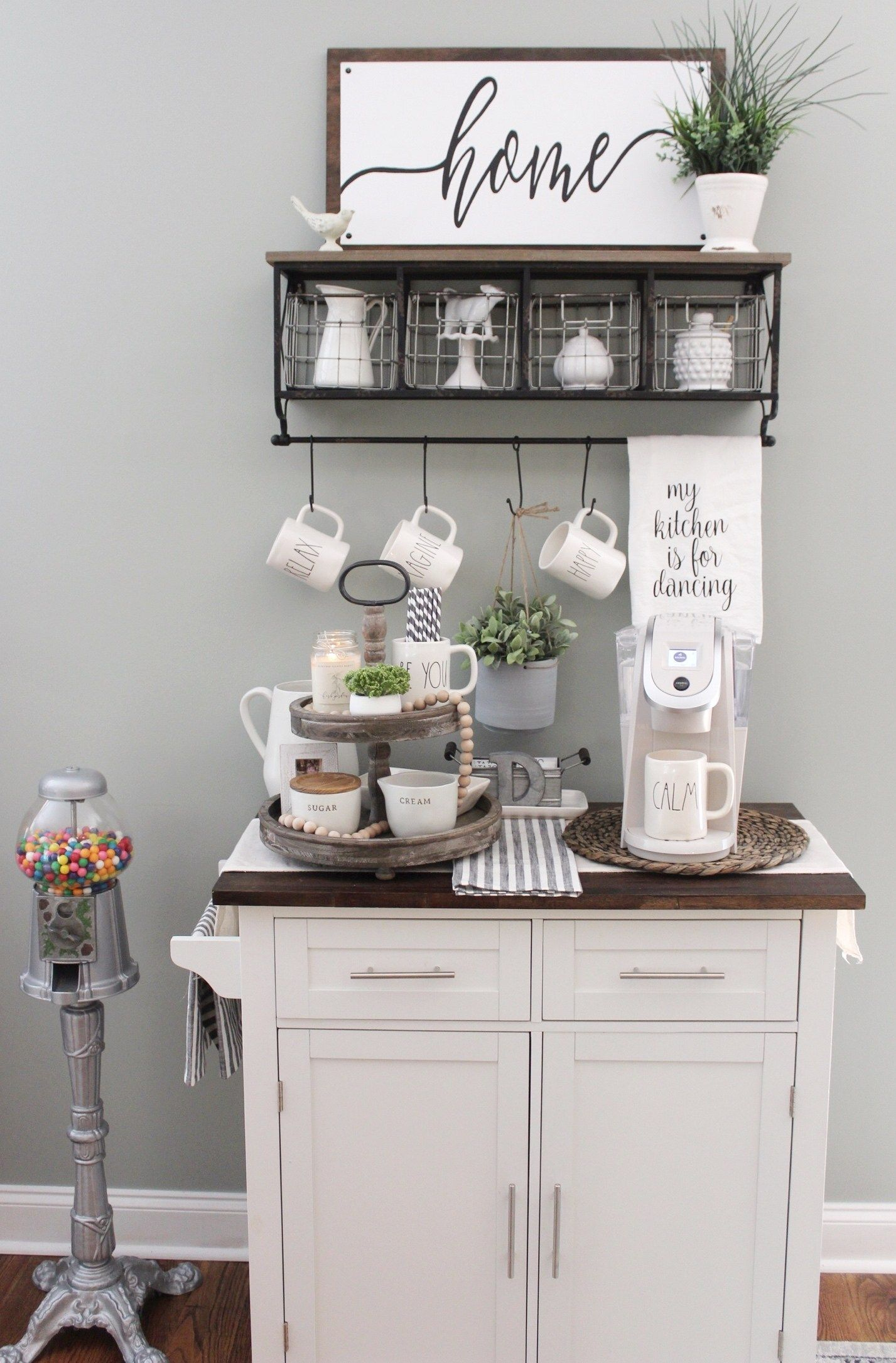 What S Inside My Coffee Bar Robyn S Southern Nest Coffee Bar Home Diy Coffee Bar Home Coffee Stations