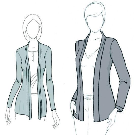 Patron veste femme pdf gratuit