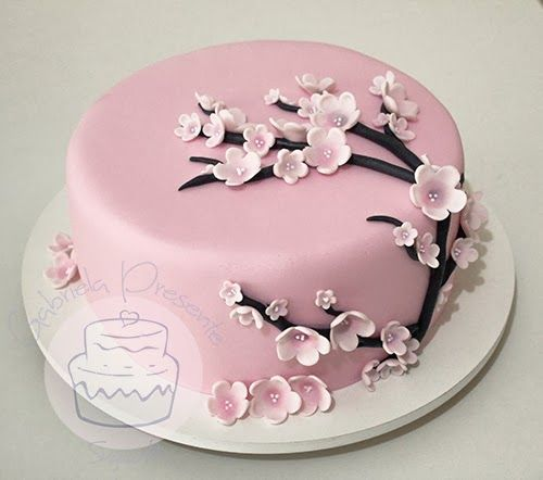 Cherry Blossom Cake More