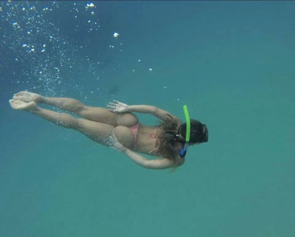 scuba videos diving underwater of sexy
