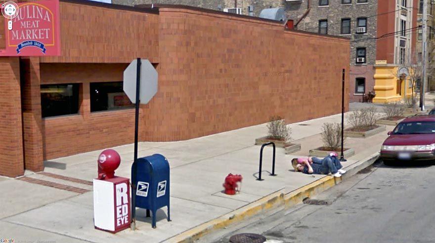 36 Strange and Funny Google Street View Photos Google