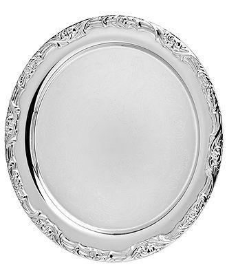 Godinger Serveware #platter #silver #macys BUY NOW!